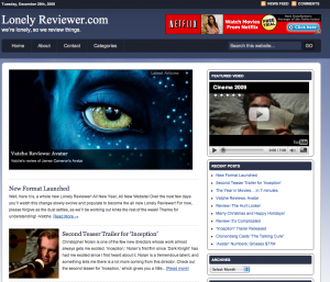 Relaunch of Lonely Reviewer Screenshot